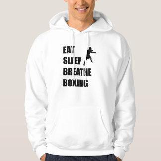 Eat Sleep Breathe Boxing Hoodie
