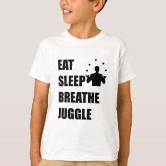 Eat Sleep Breathe Juggle T-Shirt