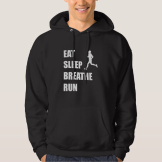 Eat Sleep Breathe Run Hoodie