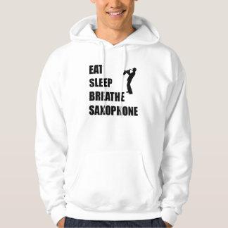 Eat Sleep Breathe Saxophone Hoodie
