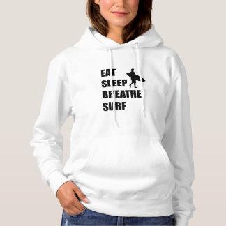 Eat Sleep Breathe Surf Hoodie