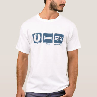 eat, sleep, campervan T-Shirt