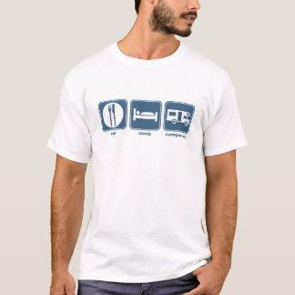 eat sleep campervan T-Shirt