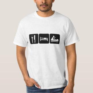 Eat sleep Canoeing T-Shirt
