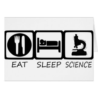 EAT SLEEP CARD