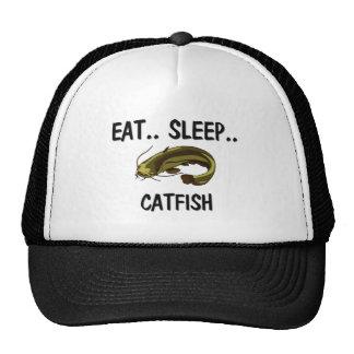 Eat Sleep CATFISH Mesh Hat