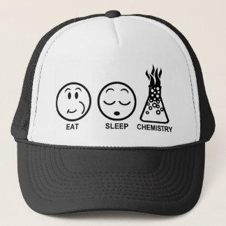 Eat Sleep Chemistry Trucker Hat