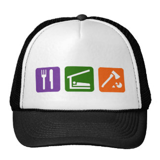 Eat Sleep Chopping Wood Trucker Hat