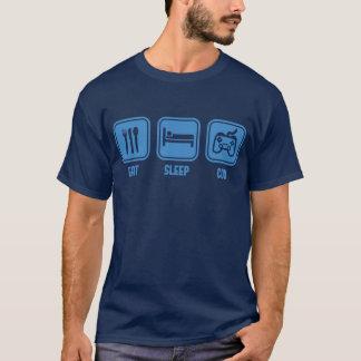 Eat Sleep COD xbox PS3 play station game t-shirt