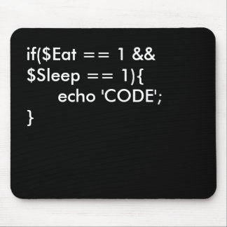 Eat . Sleep. Code Mouse Pad
