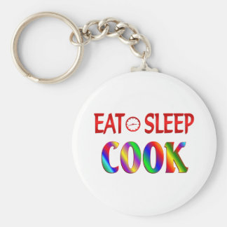 Eat Sleep Cook Keychain