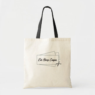 Eat Sleep Coupon Tote Bag