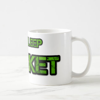 Eat Sleep Cricket Coffee Mug
