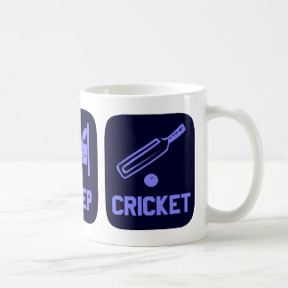 Eat Sleep Cricket Coffee Mug