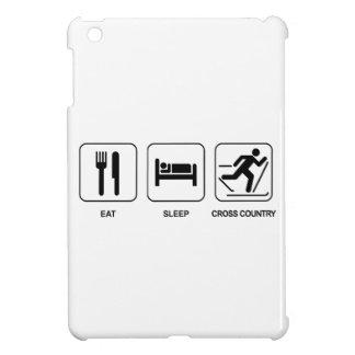 Eat Sleep Cross Country iPad Mini Cases