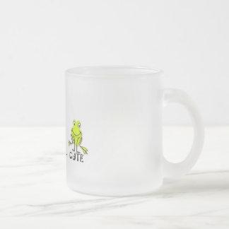 Eat Sleep Cute Frog Coffee Mug