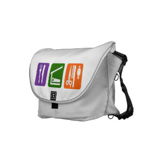 Eat Sleep Cutting Hair Commuter Bag