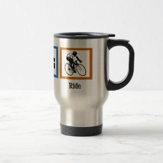 Eat Sleep Cycling Travel Mug
