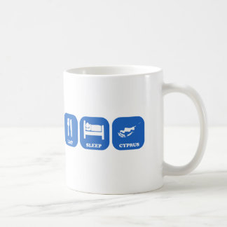 Eat Sleep Cyprus Coffee Mug