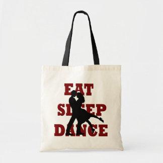 Eat, Sleep, Dance Canvas Bags