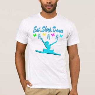 EAT, SLEEP, DANCE BALLERINA DESIGN T-Shirt