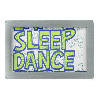 eat sleep dance repeat belt buckles