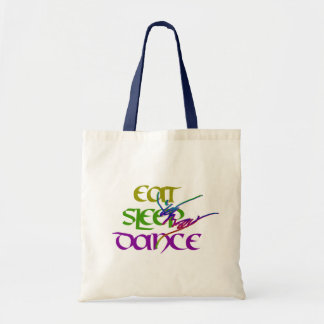 EAT SLEEP DANCE TOTE BAG