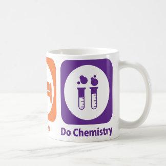 Eat Sleep Do Chemistry Coffee Mug