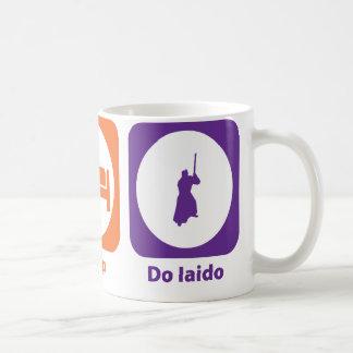 Eat Sleep Do Iaido Coffee Mug