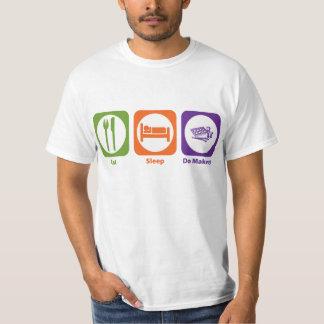 Eat Sleep Do Makeup T-Shirt