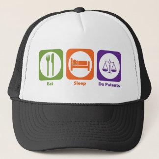 Eat Sleep Do Patents Trucker Hat