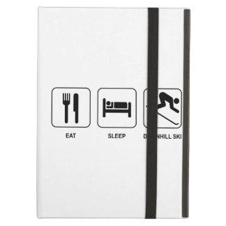 Eat Sleep Downhill Ski iPad Air Case