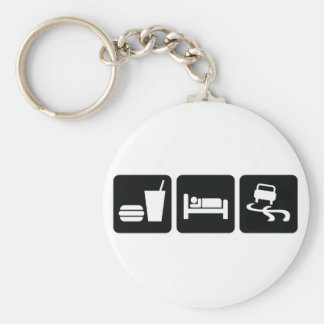Eat Sleep Drift Keychain
