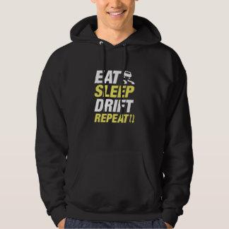 Eat Sleep Drift Repeat Hoodie
