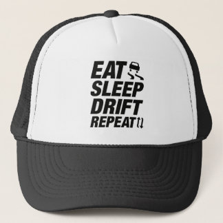 Eat Sleep Drift Repeat Trucker Hat