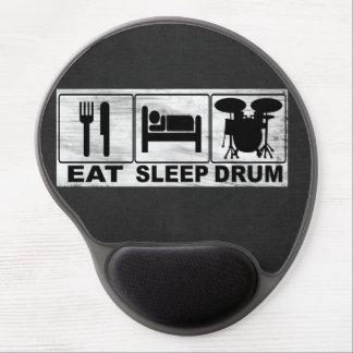 EAT SLEEP DRUM GEL MOUSE PAD