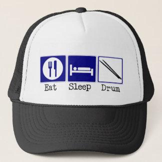 Eat, Sleep, Drum Trucker Hat