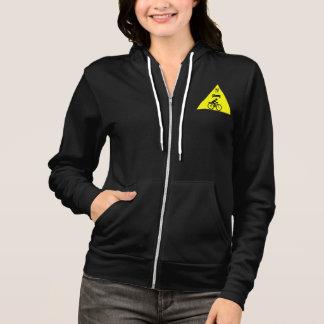 """Eat sleep eBike"" custom hoodies for women"