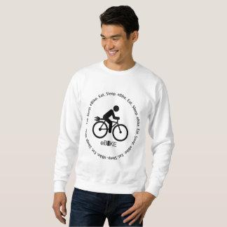 """""""Eat sleep eBike"""" custom sweatshirts for men"""