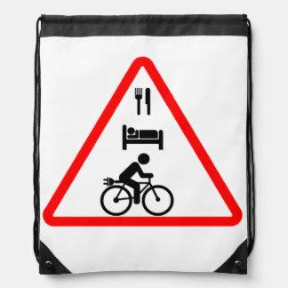 """""""Eat. Sleep. eBike"""" cycling bags"""