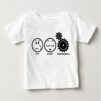 Eat Sleep Engineering Baby T-Shirt