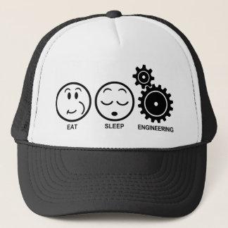 Eat Sleep Engineering Trucker Hat