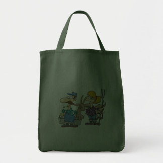 Eat Sleep Feed Goats Grocery Tote Bag