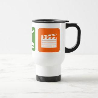 Eat Sleep Film Production Stainless Steel Travel Mug