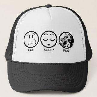 Eat Sleep Film Trucker Hat