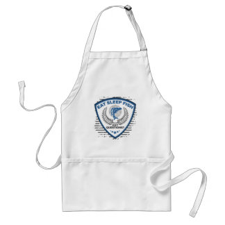 Eat Sleep Fish Any Questions Fishing Standard Apron