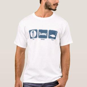 eat, sleep, fish T-Shirt