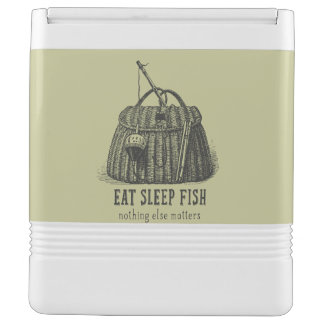 Eat Sleep Fish Vintage Tackle Box