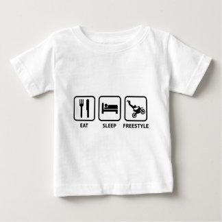 Eat Sleep Freestyle Baby T-Shirt