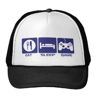 Eat Sleep Game - Gamer Geek Video Games Trucker Hat